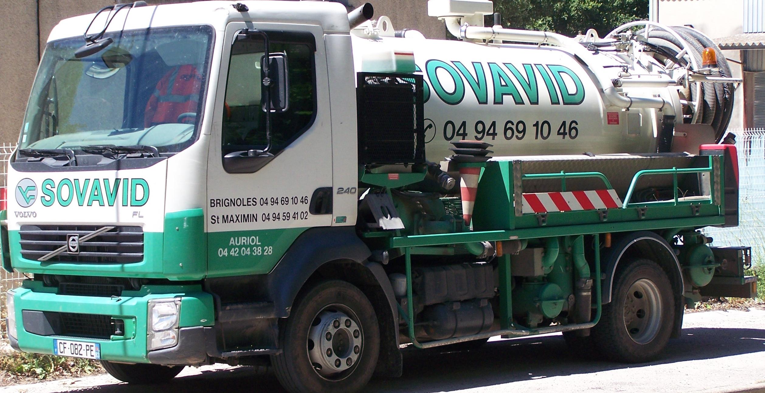Camion assainnissement
